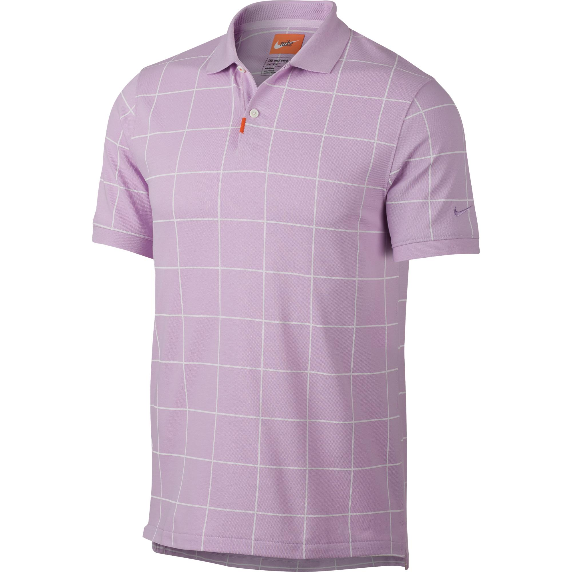 Men's Golf Grid Short Sleeve Shirt