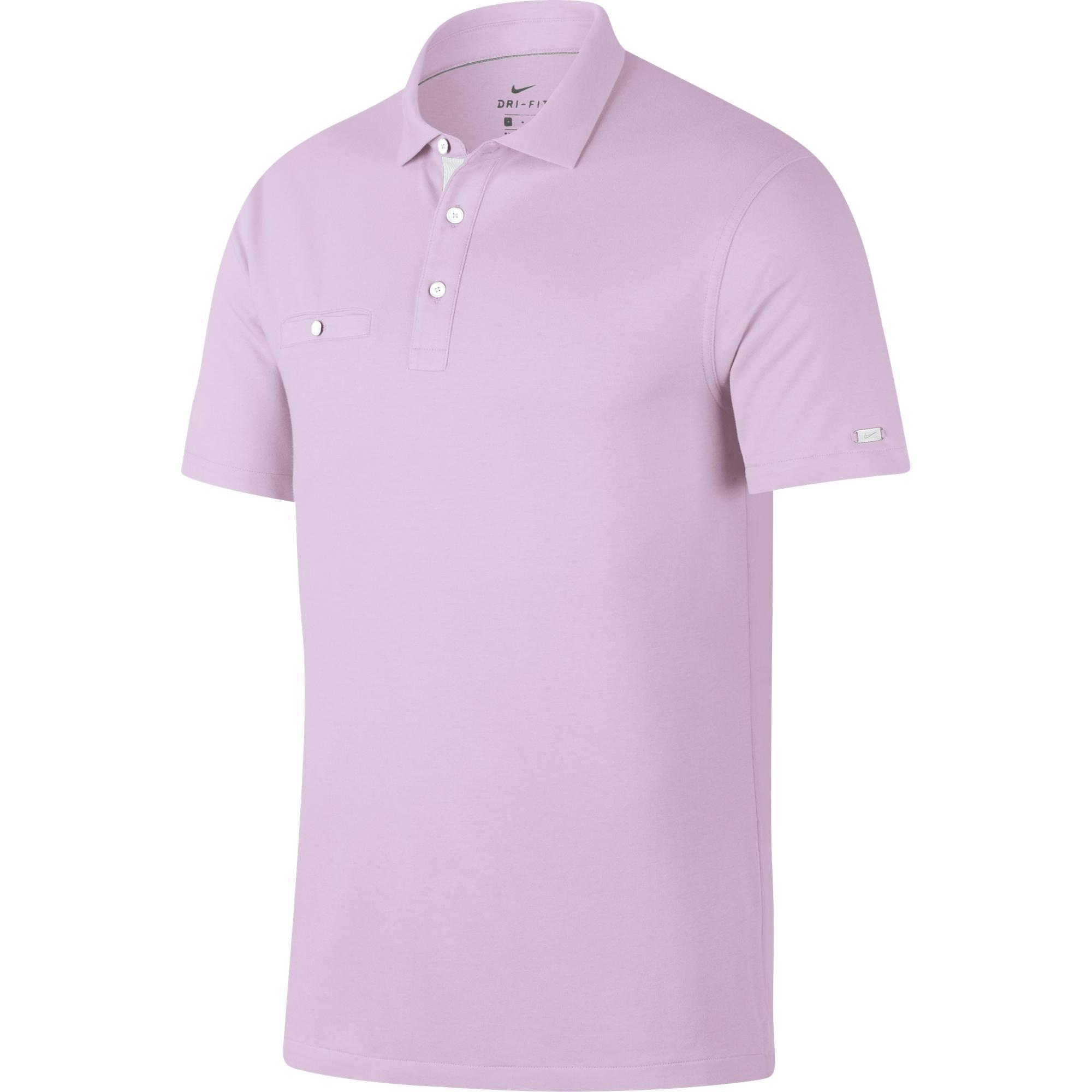 Men's Dri-FIT Player Solid Short Sleeve Shirt