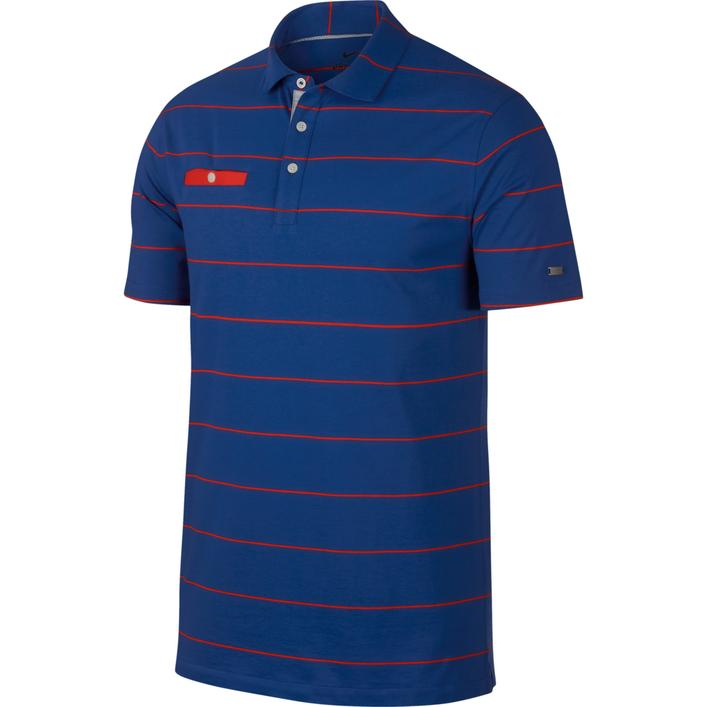 Men's Dri-FIT Player Stripe Short Sleeve Shirt
