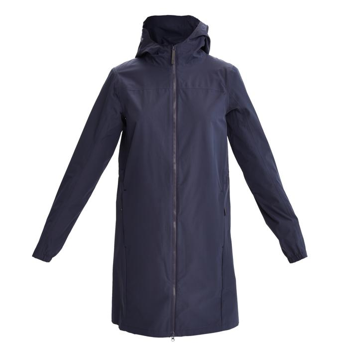 Women's Piper Printed Lining Long Rain Jacket