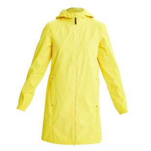 Women's Piper Printed Lining Long Rain Jacket