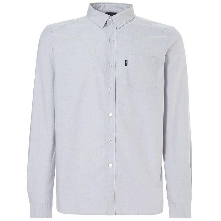 Men's Oxford Long Sleeve Button Up Shirt