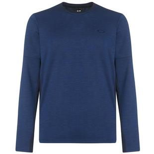 Men's Knockdown Mixed Fleece Crew Sweater