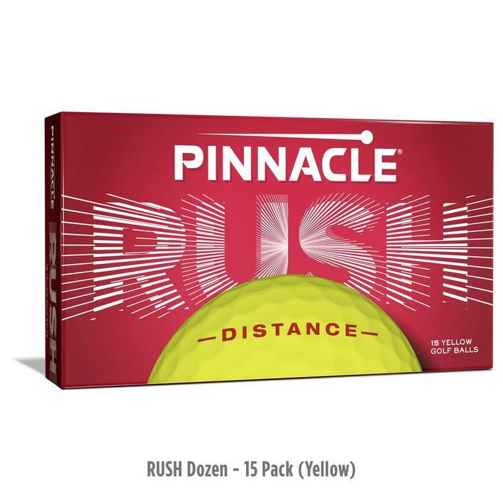Rush Golf Balls - 15 Pack