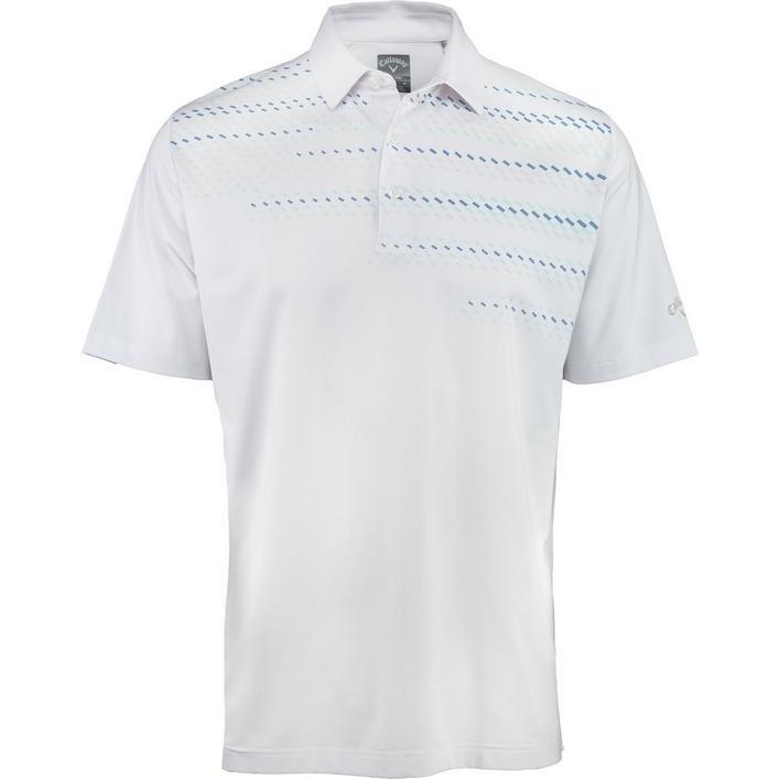 Men's Mini Geo Print Short Sleeve Shirt