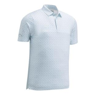 Men's Mini Ombre Box Print Short Sleeve Shirt