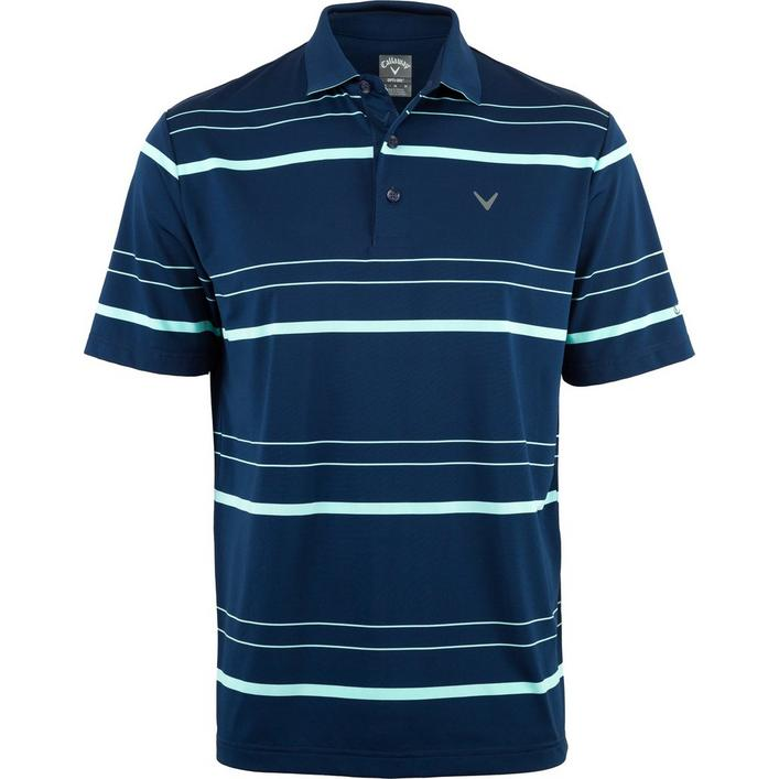 Men's Big & Tall Oversized Fashion Stripe Short Sleeve Shirt