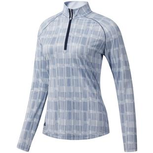 Women's Sport Performance UPF Quarter Zip Long Sleeve Top