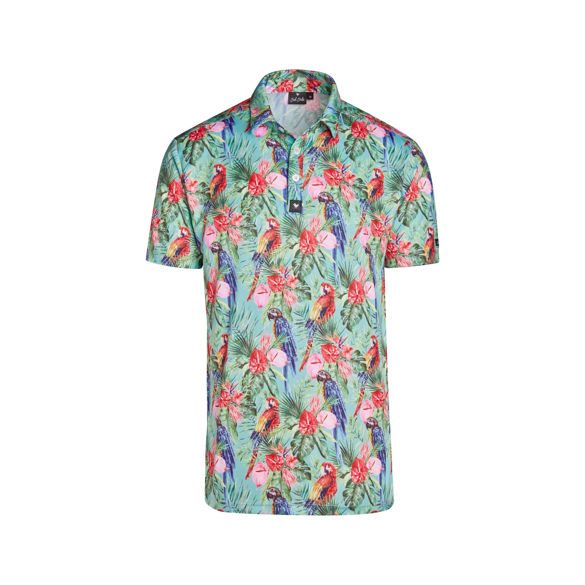 Men's Fiesty Flockers Short Sleeve Polo