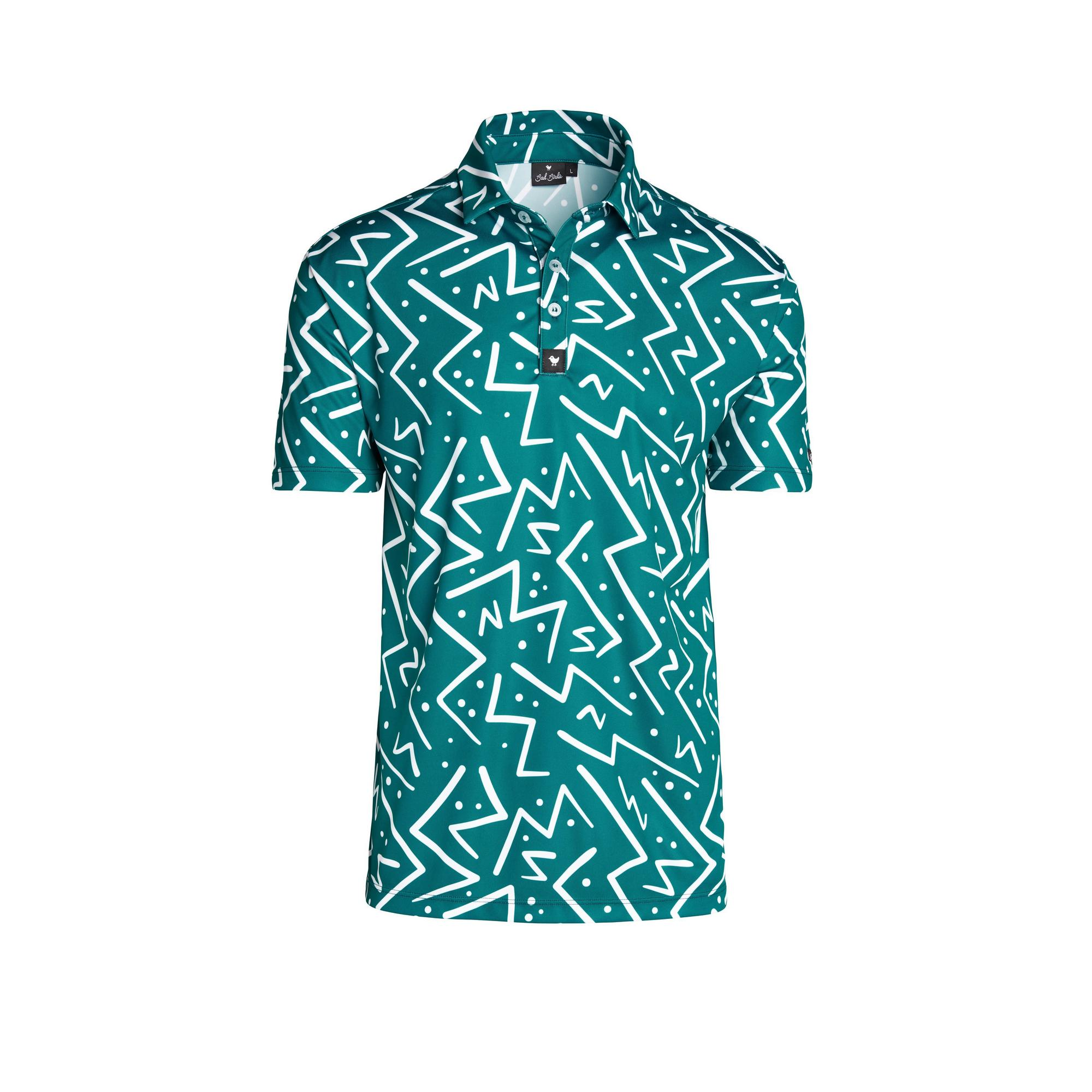 Men's Controlled Chaos Short Sleeve Polo