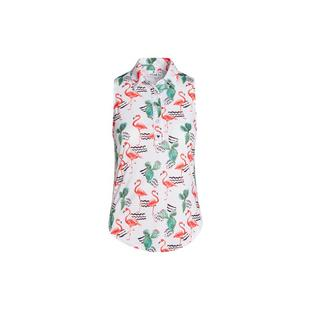 Women's Flamingo Desert Sleeveless Polo