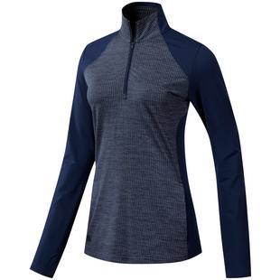 Women's Quarter Zip Long Sleeve Sweater
