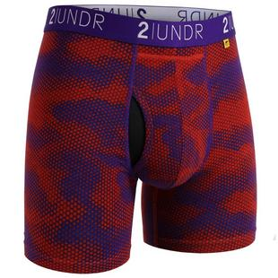 Men's Swing Shift Boxer Brief - Lava