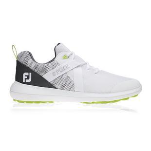 Chaussures Flex sans crampons pour hommes - Blanc/Gris
