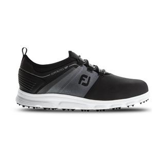 Men's Superlites Slip On Spikeless Golf Shoe - Black/Grey