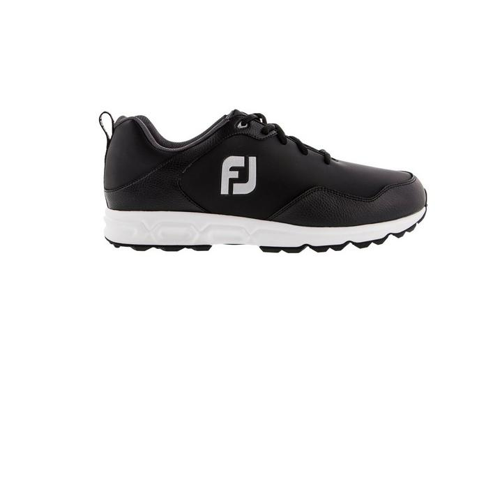 Men's Golf Athletics Spikeless Shoe - Black/White
