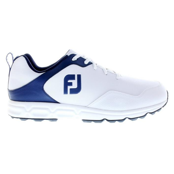 Men's Golf Athletics Spikeless Shoes - White/Navy