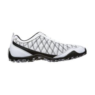 Women's Superlites Spikeless Golf Shoe - White/Black