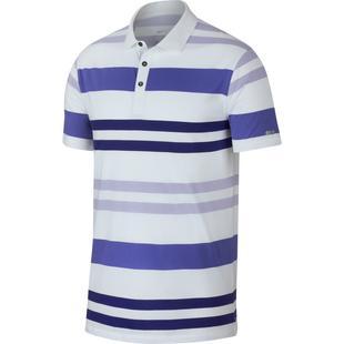 Men's Dri-FIT Player Multi Striped Short Sleeve Shirt