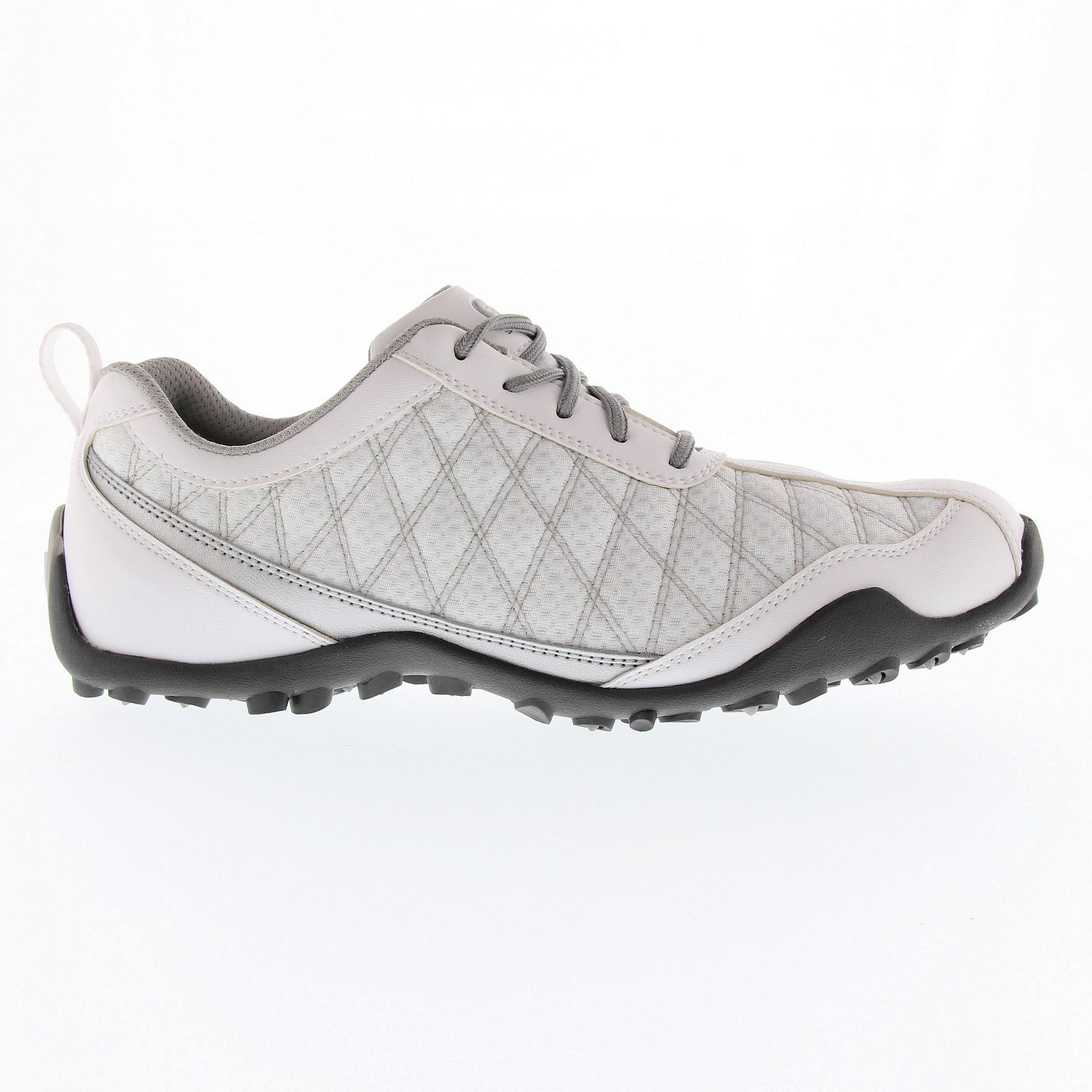 Women's Superlites Spikeless Golf Shoe - White/Silver