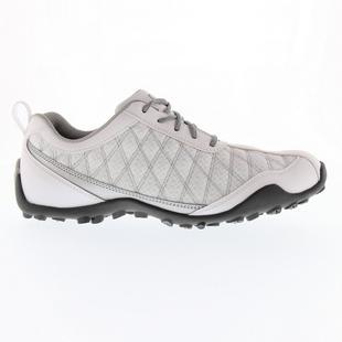 Chaussures Superlites sans crampons pour femmes (Blanc/Argent)