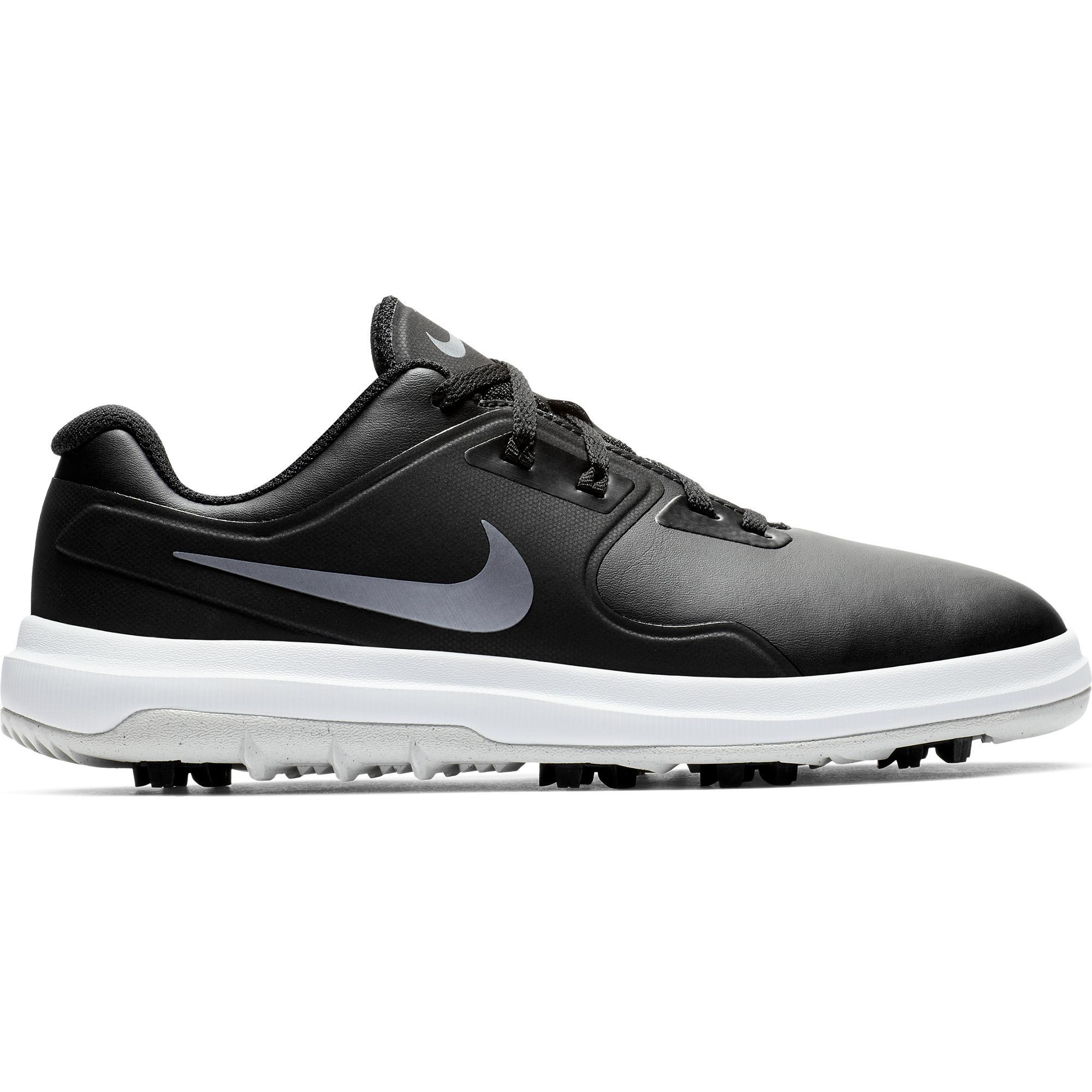 Chaussures Vapor Pro à crampons pour juniors - Noir/Argent