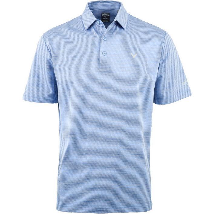 Men's Space-Dye Jacquard Short Sleeve Shirt