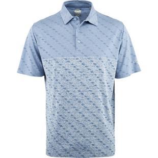 Polo Essential Jacquard à manches courtes pour hommes