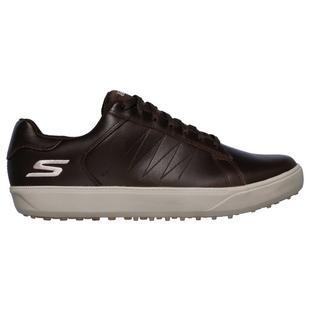 Chaussures Go Golf Drive 4 sans crampons pour hommes - Brun
