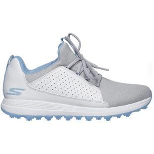 Chaussures Go Golf Max Mojo sans crampons pour femmes (Gris/Bleu pâle)