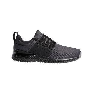 Chaussures Adicross Bounce sans crampons pour hommes - Noir/Gris