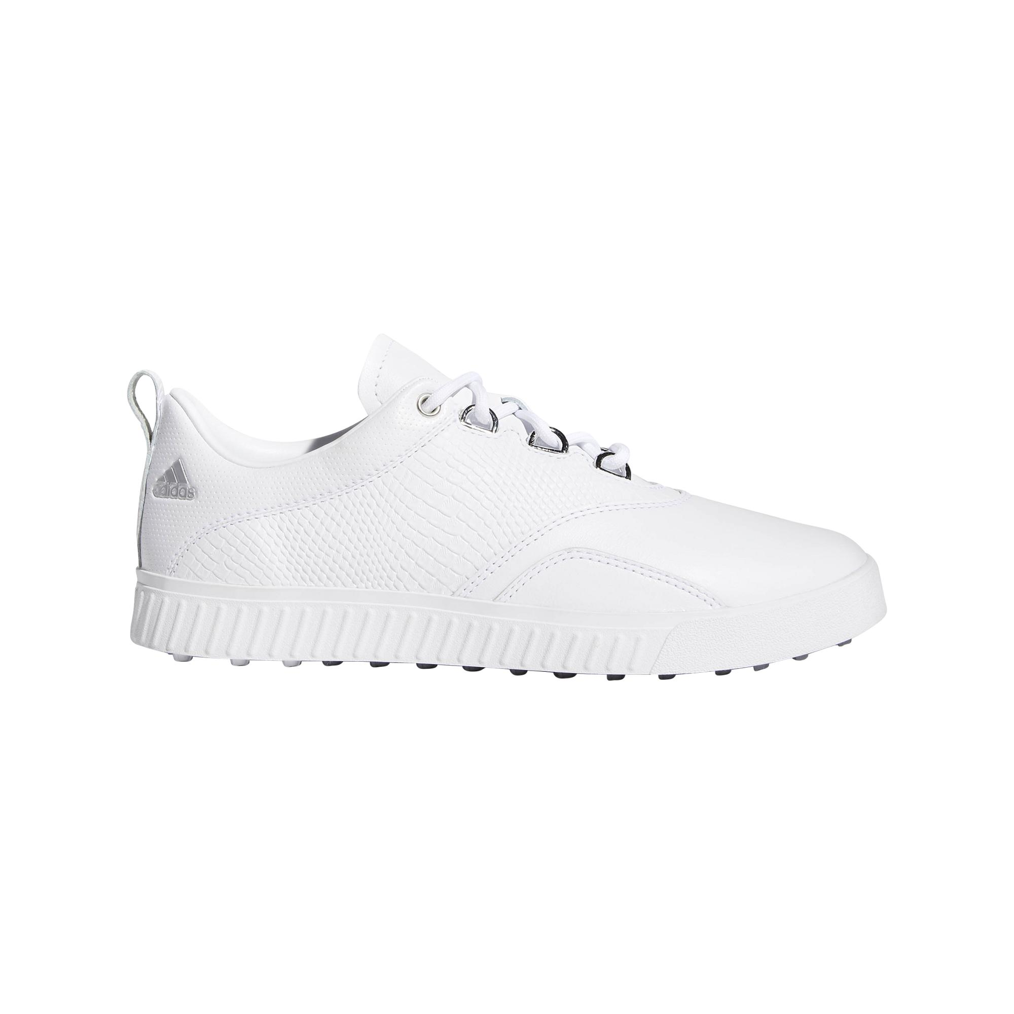 Chaussures Adicross PPF sans crampons pour femmes – Blanc