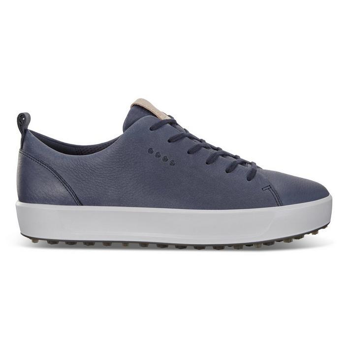 Chaussures Soft Nubuck sans crampons pour hommes - Bleu