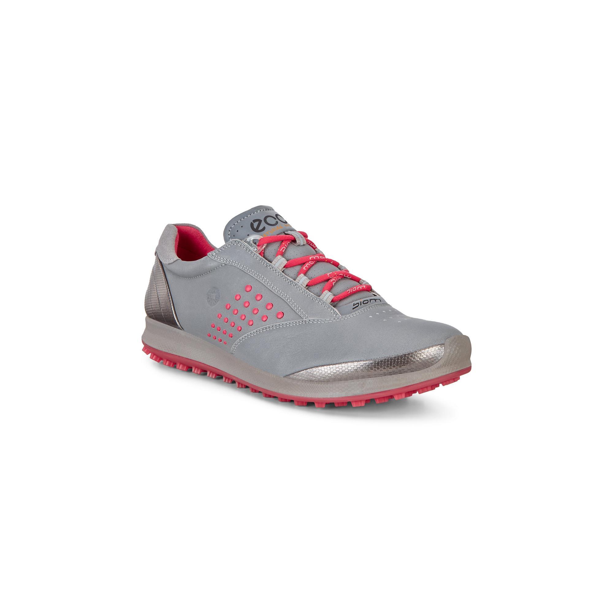 Women's Biom Hybrid 2 Spikeless Golf Shoe - Grey/Pink