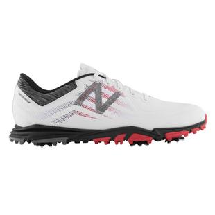 Men's Minimus Tour Spiked Golf Shoe - White/Red/Black