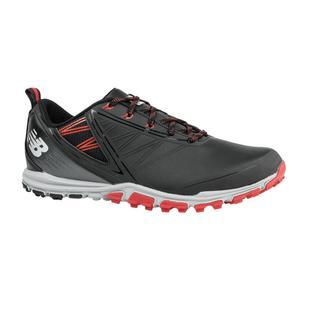 Chaussures Minimus sans crampons pour hommes - Noir/Rouge