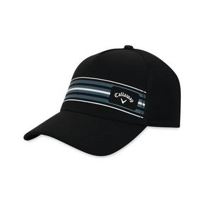 Men's Stripe Mesh Cap