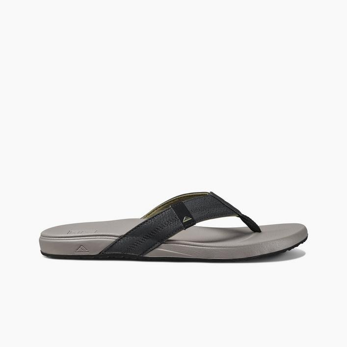 Men's Cushion Bounce Phantom Flip-Flop Sandal - Light Grey/Black