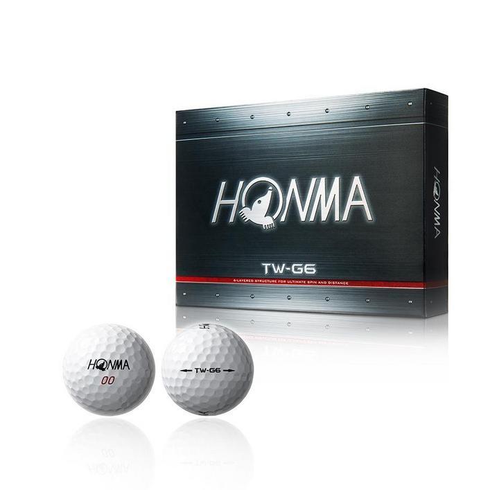 TW-G6 Golf Balls - White