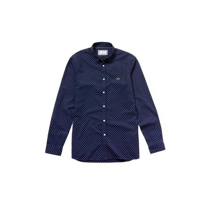 Men's Slim Fit Cotton Poplin Long Sleeve Shirt