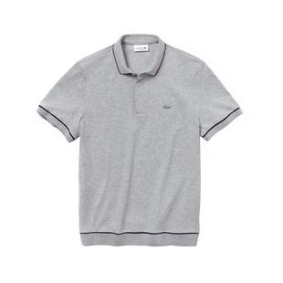 Men's Regular Fit Mini Pique Short Sleeve Shirt