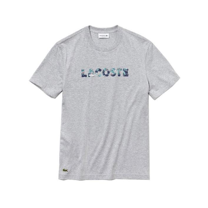 T-shirt en coton souple à col ras-du-cou pour hommes