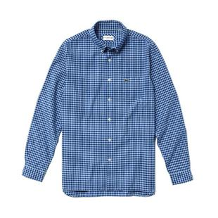Men's Regular Fit Cotton Long Sleeve Shirt