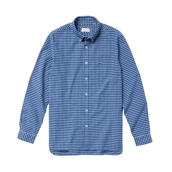 Men's Regular Fit Cotton Long Sleeve Shirt