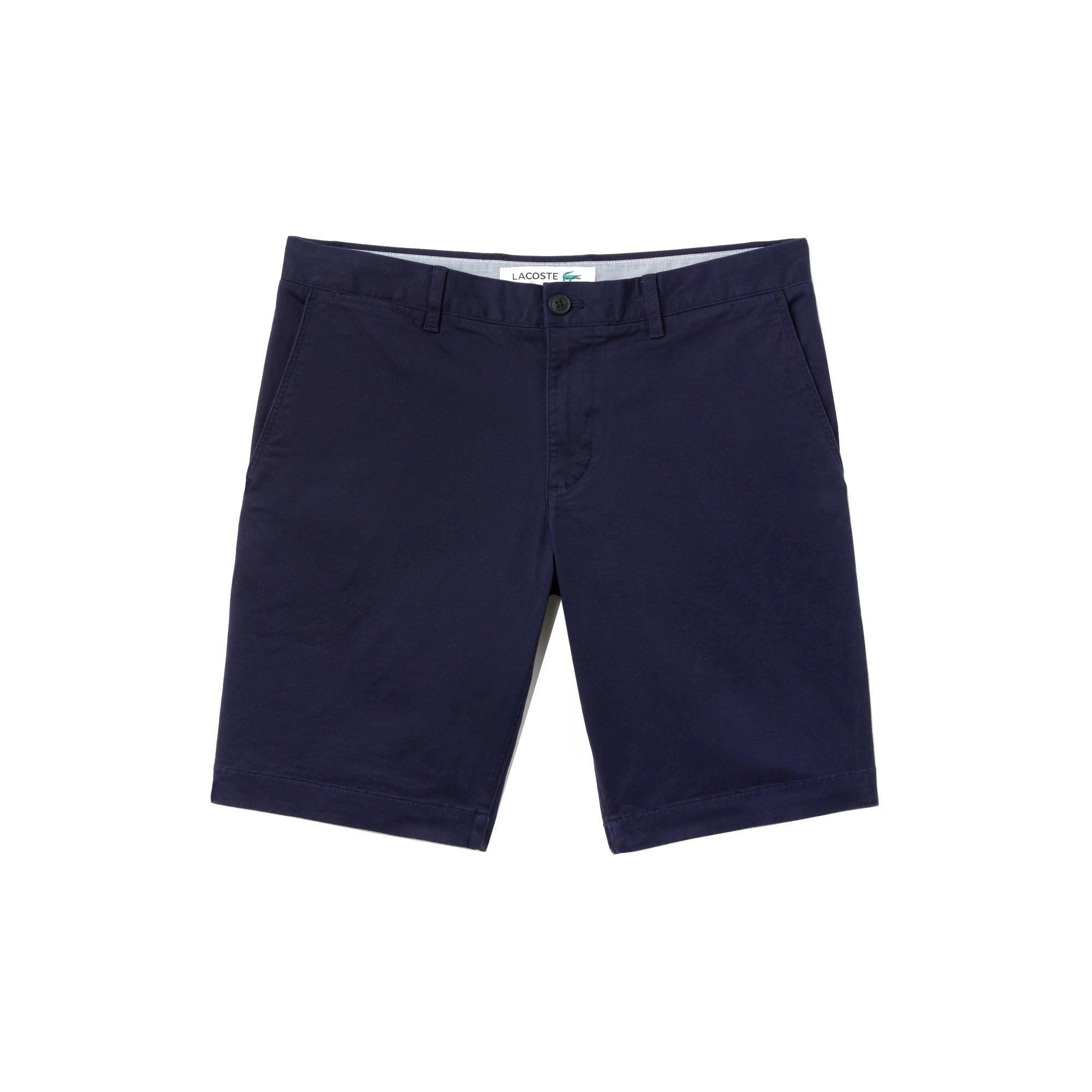 8a60e06927 Men\'s Slim Fit Stretch Gabardine Shorts