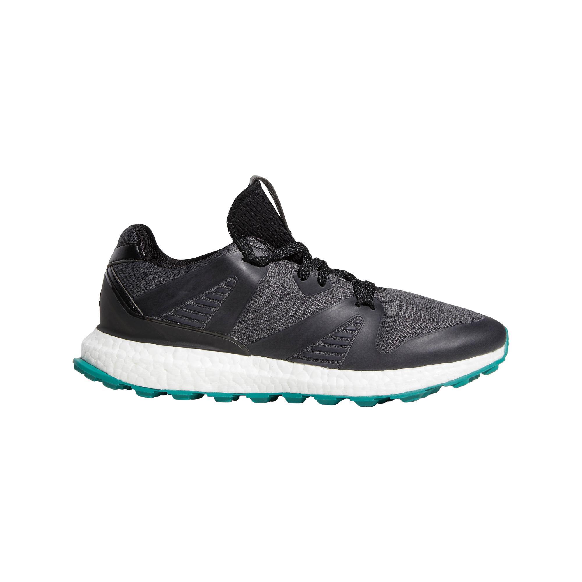 Men's Crossknit 3.0 Spikeless Golf Shoe - Black/Turquoise