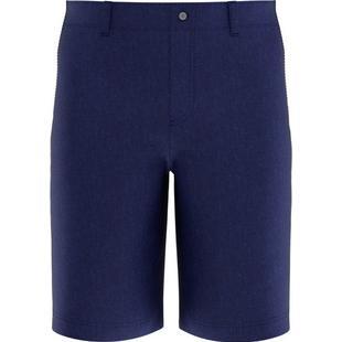 Pantalon court tissé teint chiné pour hommes