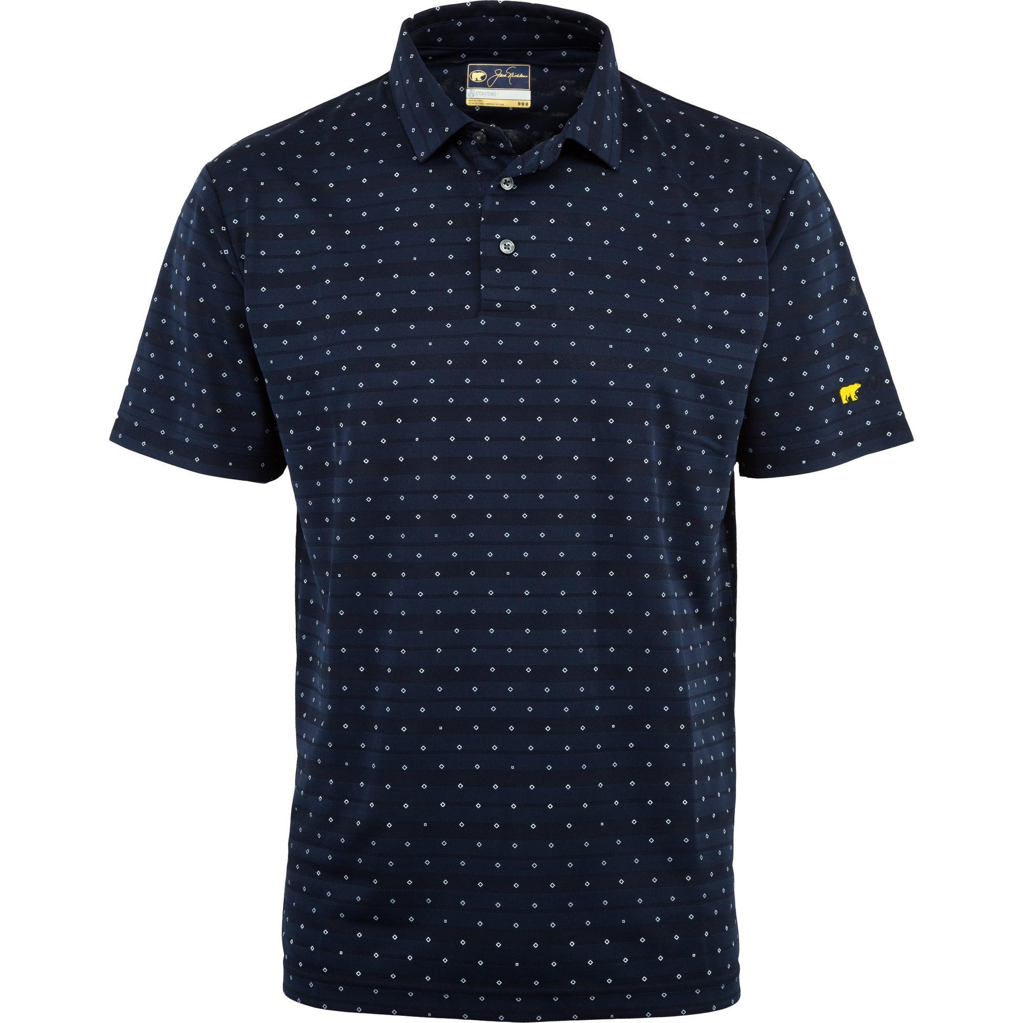 Men's Mini Diamond All Over Print Short Sleeve Shirt