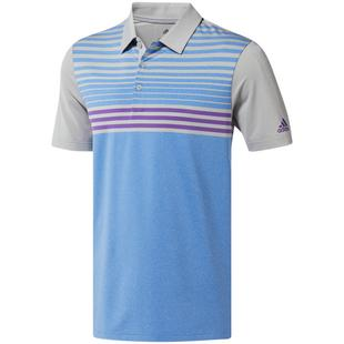 Men's Ultimate 3 Stripe Heather Gradient Short Sleeve Shirt