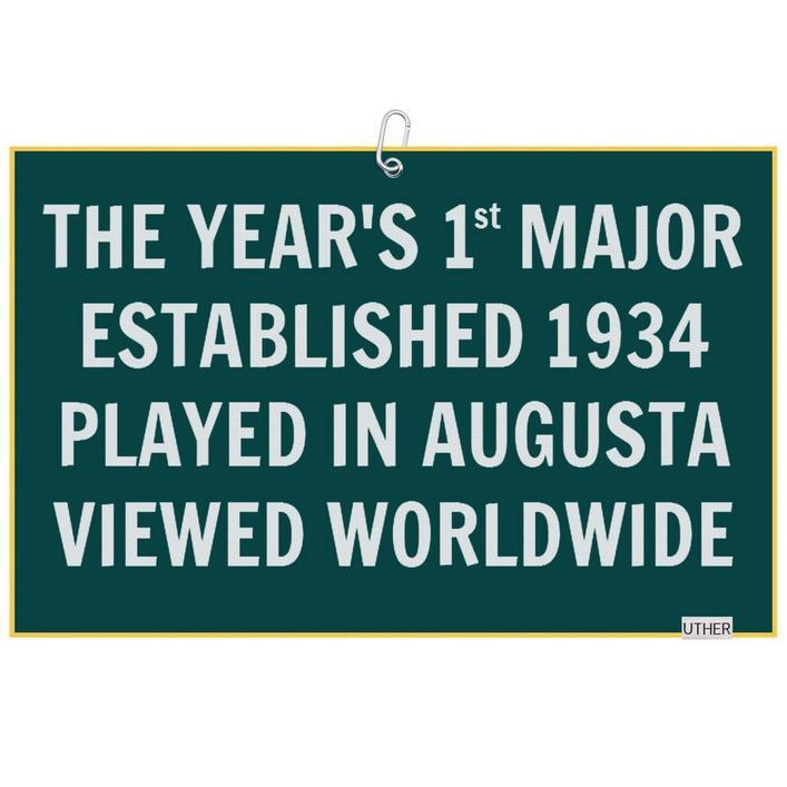 Microfiber Golf Towel - Years First Major